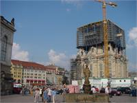 Dresden Town Square - Aug 10, 2002