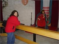Lesley checks out King John