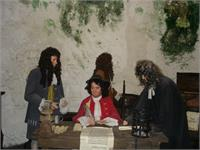 "A bunch of old men in King John""s castle in Limerick"