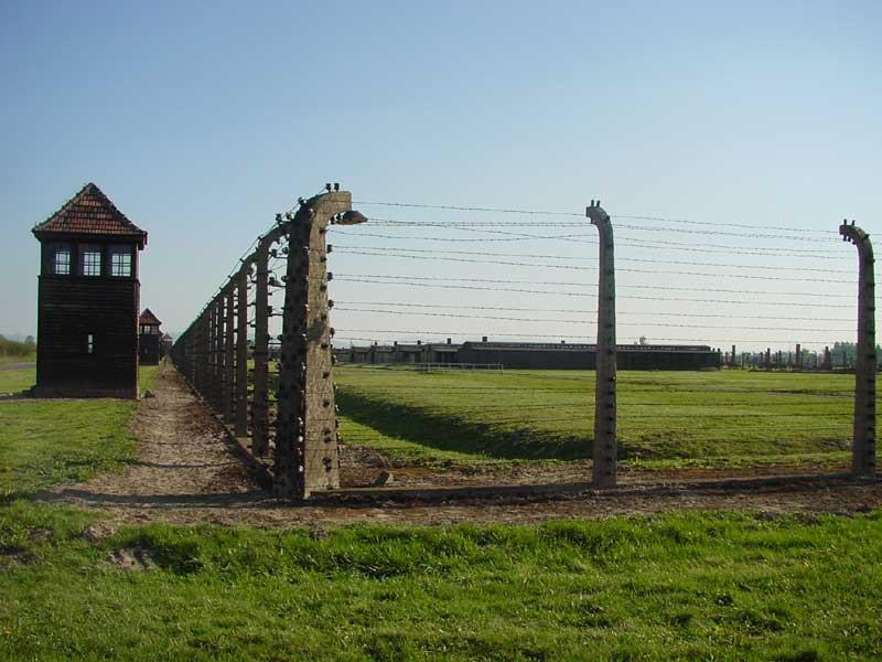 The gates of Birkenau, while we did not go into the camp, just by driving was  something I will never forget.
