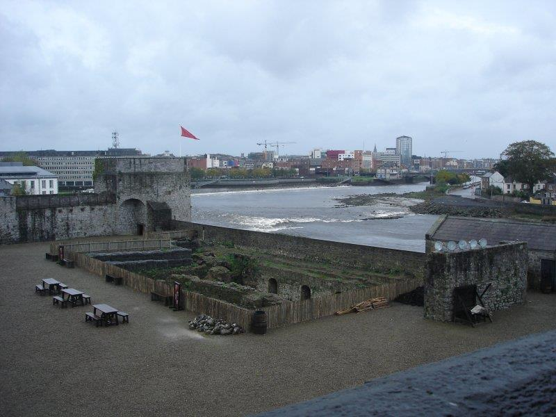 "Downtown Limerick from King John""s Castle"