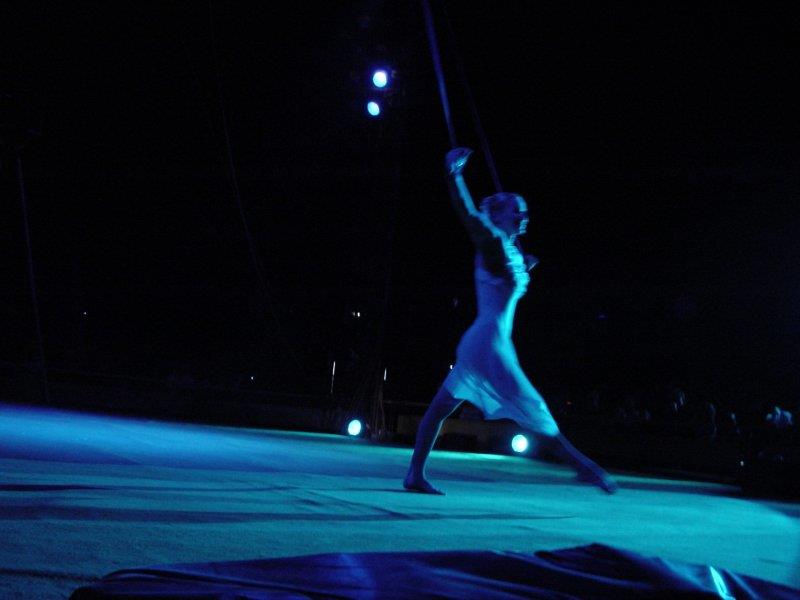 Nataly participated with success at the International Circus Festival for Female Artists