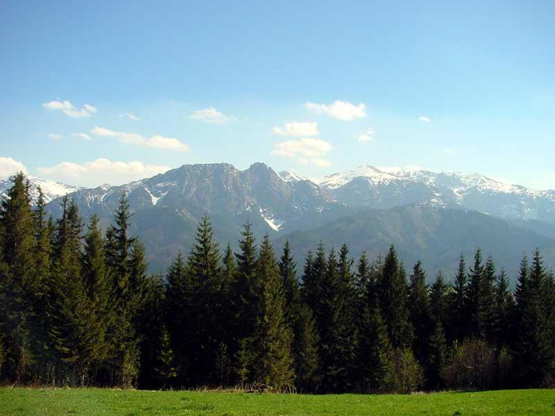 The Sleeping Knight of the Tatra mountains