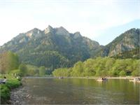 More shots from the river ride, the mountain is called the 3 sisters (I think)